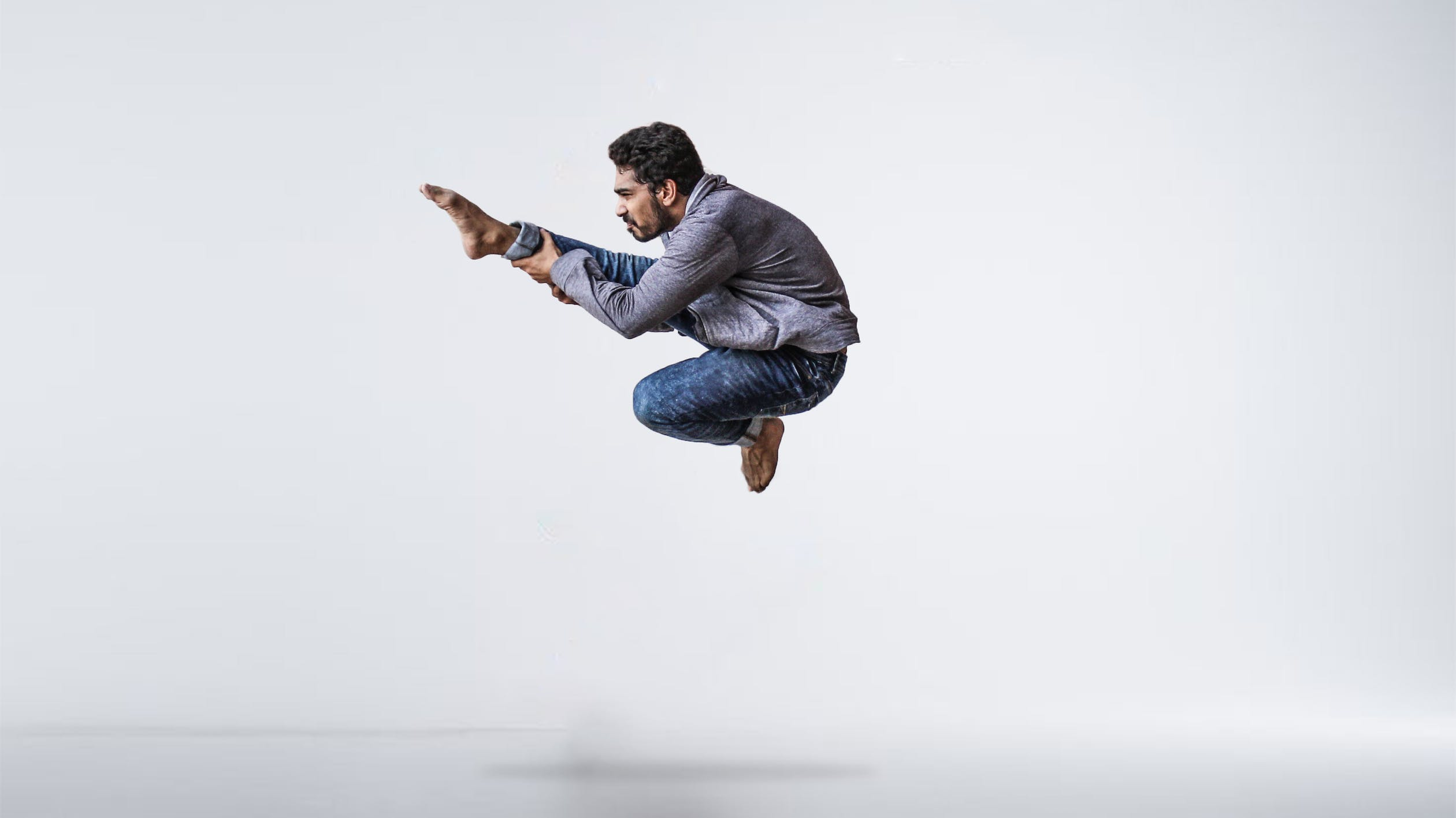 人生は走高跳びと同じ。壁にぶつかっても、助走をつければどんな壁でも飛び越えられる。